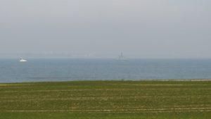 """Fregatte """"LÜBECK"""" vor Niendorf/Ostsee"""