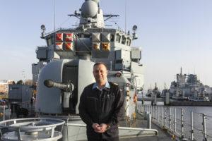 Fregattenkapitän Mathias Rix