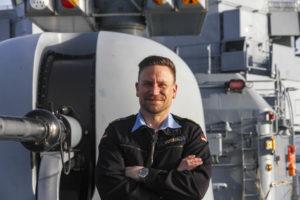 Fregattenkapitän Kai Röckel