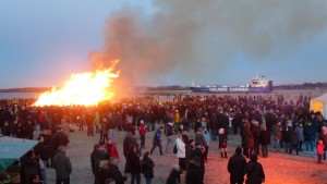 Osterfeuer 2015 - 2