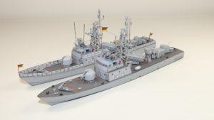 Anleitungsbauten Schnellboot Klasse 148