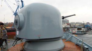 76mm-Geschützturm