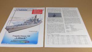 Fregatte Klasse 122 - Titelblatt