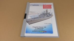 Fregatte Klasse 122 - Klemmmappe