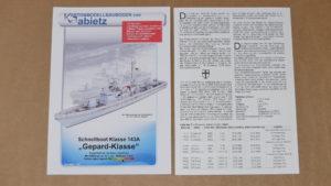 """Titelbild """"Schnellboot Klasse 143A"""""""